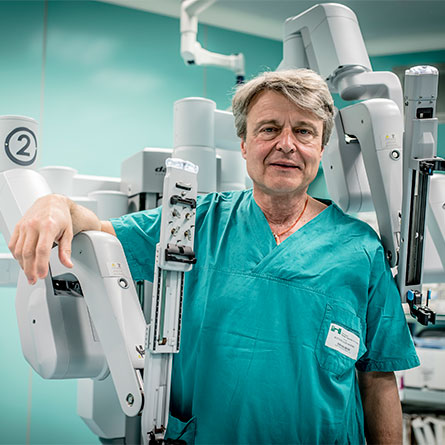 Aldo Bocciardi Chirurgia robotica
